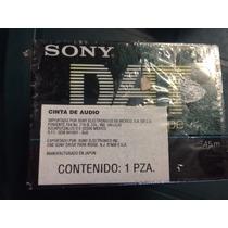 Cassette Dat Sony Dt90r Cinta Digital 90 Minutos Winners