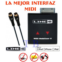 Line 6 Midi Mobilizer 2 Interfaz Portatil Iphone Ipad Ipod.