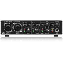 Interface Audio Behringer Umc204 U-phoria Hd Midi Usb Alto