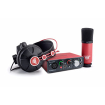 Interfaz De Audio Focusrite Scarlett Solo Studio Pack Nueva