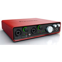Focusrite Scarlett 6i6 Interfaz Audio Usb Para Profesionales