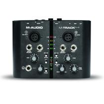 M-audio M-track + Plus Interface Profesional 24 Bits Phantom