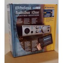 Interfaz De Audio Ipad Pc Y Mac Presonus Audiobox Ione Nueva