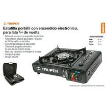 Estufa Portatil Con Encendido Electronico Truper