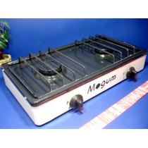 Estufa De Gas Sobre Mesa 2 Quemadores Mod.: 303