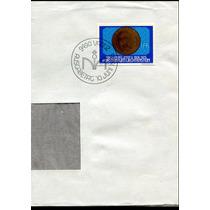 0655 Carta Sello/moneda Alemania Primer D 1 Fr 1976
