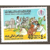 Libia, Africa Estampillas Dia Mundial De La Salud 1979 Onu