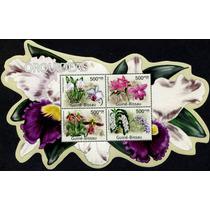 1037 Orquideas Cuinea Hoja Recuerdo 4 P Mint N H 2011