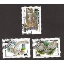 Fauna Aves Buhos De La Union Sovietica. 1990