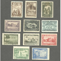 Estampillas Republica España1930 Expo Iberoamericana