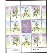 Hojita Irlanda Campeonato Mundial Futbol Usa 1994 Vbf