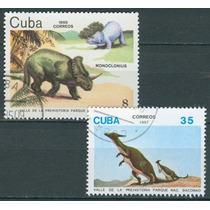 Sc () Año 1985-87 Cuba Dinosaurios Serie Tematica
