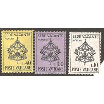 Vaticano Funebre Juan X X I I I 1963 Sede Vacante