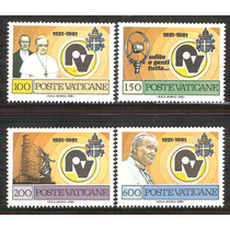 1981 Radio Vaticano Papa Pio Xl Juan Pablo Il Marconi Mnh