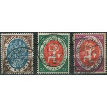 1546 Alemania Simbolismos 3 Sellos Usados 1919