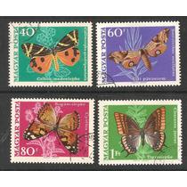 Estampillas Mariposas De Hungría