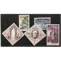 Estampillas De Monaco Pio X I I , Fatima, Washington Etc