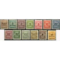 1808 Alemania Scott #280 Numeral 13 Sellos Mint L H 1923