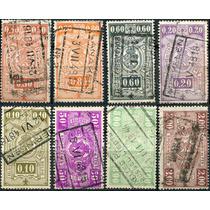 1826 Bélgica Scott #q239 Numeral Simbolo 8 S Usados 1941