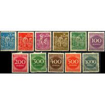 1809 Alemania Scott #221 Numeral 11 Sellos Mint L H 1922-23
