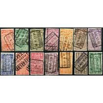 1888 Bélgica Scott #q140 Numeral Simbolo 14 S Usados 1923-40