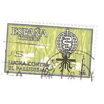Estampilla España 1962 Lucha Contra Malaria