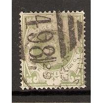 Inglaterra Estampilla Reina Victoria 1s Siglo X I X