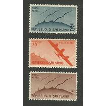 Estampillas De República De San Marino Aéreas Nuevas