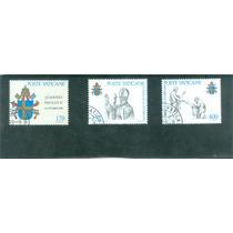 Vaticano 1978 : Serie Inicio Pontificado Juan Pablo Ii Op4