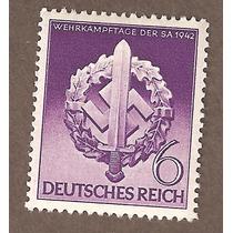 Estampilla Alemania Segunda Guerra Mundial 1942 Mn4