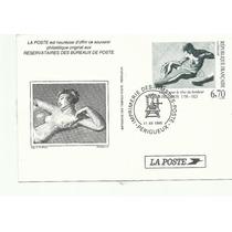 Francia, Tarjeta Entero Postal Arte.