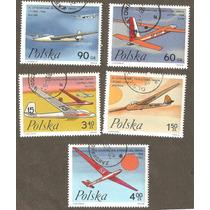 Serie De Aeroplanos De Polonia.