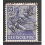1948 Alemania Recolector De Trigo Ocupación Aliada Berlin
