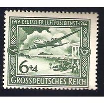Estampilla Alemania 1944 Avion Y 25 Aniv Correo Aereo