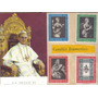 Estampilla Timbre Postal El Vaticano 1962 Papa Paolo Vl Hm4