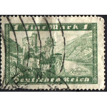 3024 Alemania Castillo Scott#337 Verde 1 M Usado L H 1924