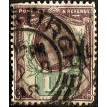 2330 Inglaterra Reina Victoria 1.5p Usado 1887-92