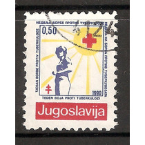 Yugoslavia Estampilla Cruz Roja Y Antituberculosis