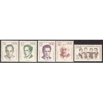 1962 Alemania Guerra Mundial Los Siete Hermanos Cervi Mnh