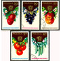 0375 Frutas Polonia 5 Sellos C T O N H 1988