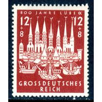 Alemania 1943 : Tercer Reich, 800 Aniv Lubeck Nazi; Op4