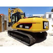 Excavadora Caterpillar 320dl, Año 2008, Recién Importada