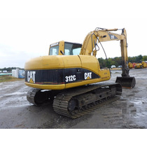 Excavadora Caterpillar 312cl, Año 2001