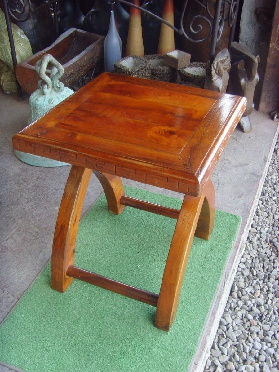 Exclusiva mesa de madera de mezquite para exterior - Mesa de madera exterior ...