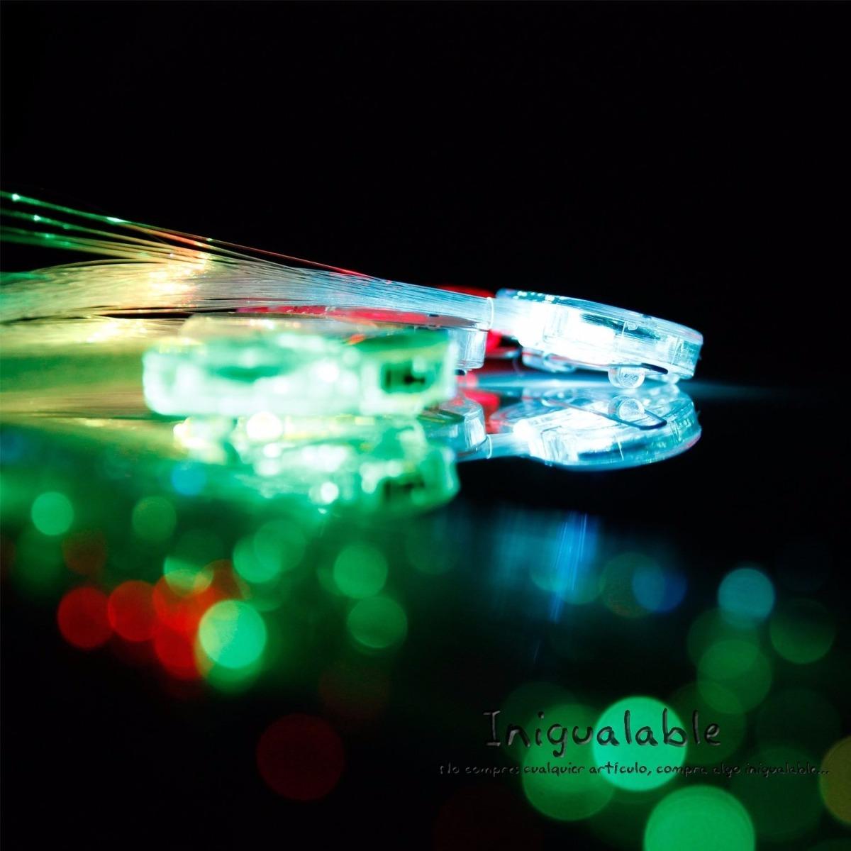 Extenciones para el pelo de colores con luces led 600 - Luces led de colores ...