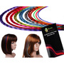 Extensiones Kit 20 Mechitas De Colores Listas Para Usarse!!