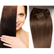 Extension Cabello Clip 100% Kanekalon 58cm Fibra Natural