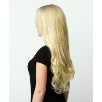 Ab Extensiones Cabello 100% Natural Cortina 55cm Rubio 613