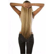 Extensiones De Cabello Natural Cortina Completa Regalo Clips