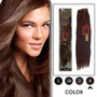 Extension Cabello Luv Remy 100% Humano Remy 18plg 10 Colores